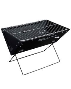 Klappgrill Faltgrill Koffergrill Camping Kohle Grill Notebookgrill XL [pro.tec]